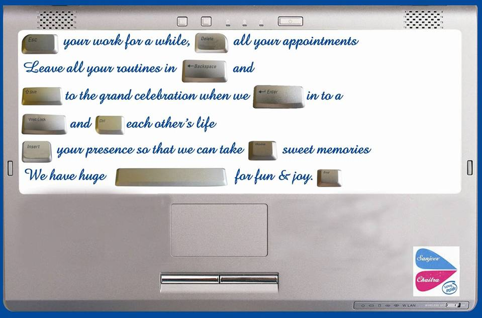 Height Of It Professionalism Software Professional S Wedding Invitation Card Bloggers Unite